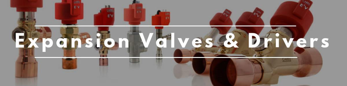 Expansion Valves & Drivers Banner