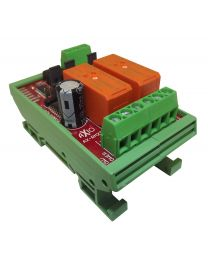 AX-RM2T - Dual Relay Module with timer 0 to 30 secs