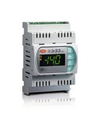 DN33E7HB20 - IR33 Universal 2 relays + 2 output 0 to 10 V version, 115 to 230Vac, with CLOCK