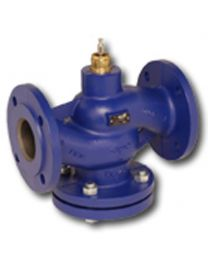 H664N - 2-way globe valve, PN16 flange, DN 65, kvs 58 Housing and seat gray cast iron GG25