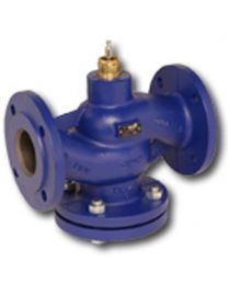 H664R - 2-way globe valve, PN6 flange, DN 65, kvs 58 Housing and seat gray cast iron GG25