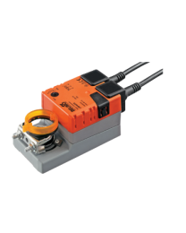 LM24AP5 - Damper actuator 5 Nm, 150 s, integrated feedback potentiometer, 95° AC / DC 24 V