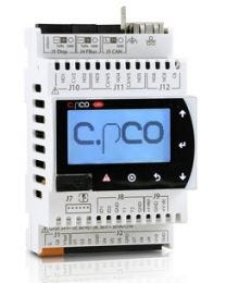 P+D000NH1DEF0 - cPCO MINI High End Panel mounted LCD Display, USB, NFC, ExV,BMS,FB, CAN