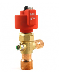 E3V65SSS00 - Electronic Expansion Valve E3V-65 22-28 copper connections ODF with sight glass