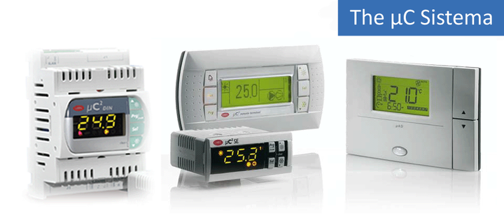 View the Chiller and Heat Pump parametric controllers range